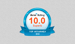 AVVO Rating of 10.0